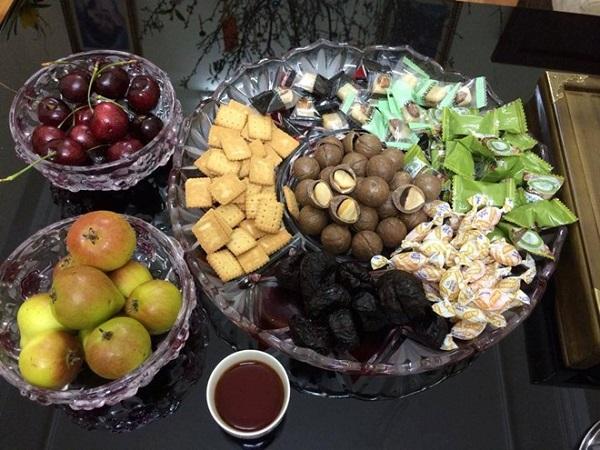 chế biến đồ ăn uống từ hạt Mắc ca