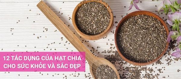 Ăn hạt Chia đúng cách bạn đã biết chưa?